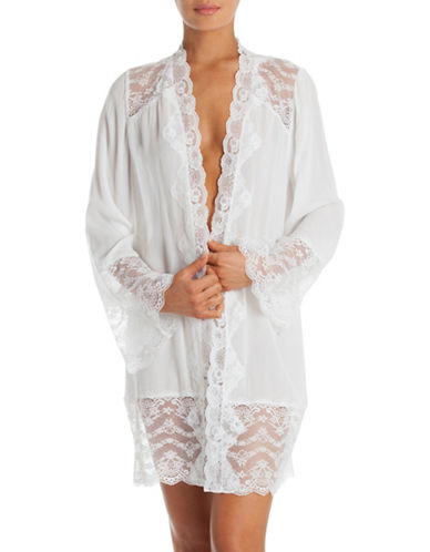 In Bloom Kiss the Sky Wrapper Robe-WHITE-Large