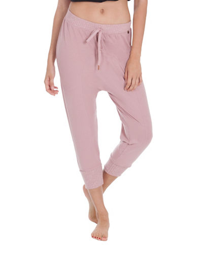 Midnight Bakery Storm Jogger Pants-PINK-Large