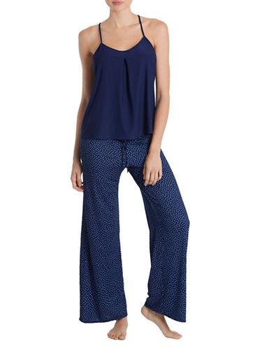 In Bloom Might Sky Pyjama Set-NAVY BLUE-Small