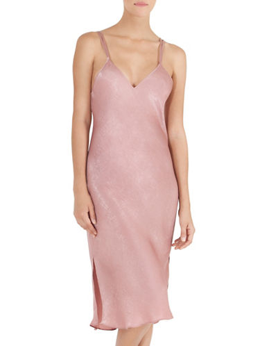 Midnight Bakery Midi Slip Night Gown-ROSE-Large