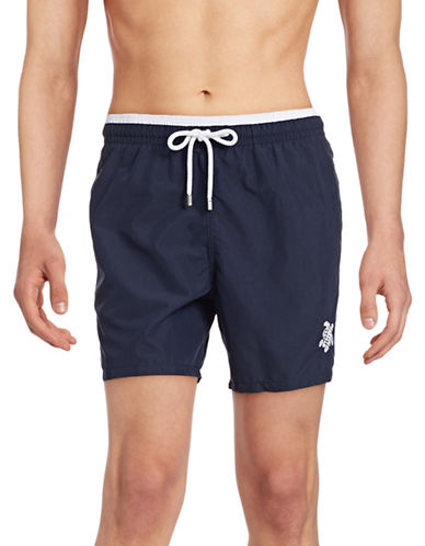 Vilebrequin Moka Swim Trunks-NAVY-Medium