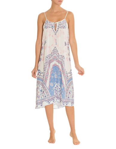 In Bloom Country Border Sleep Gown 90007878