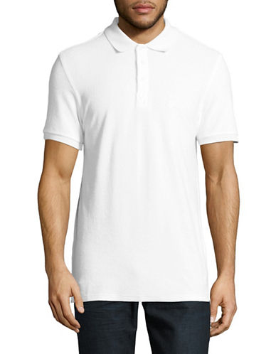 Vilebrequin Short Sleeve Cotton Polo-WHITE-X-Large