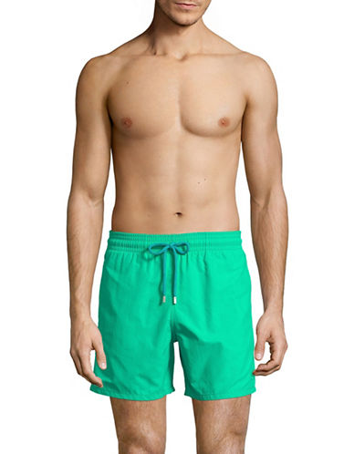Vilebrequin Sardines A LHuile Swim Shorts-DARK BLUE-Large