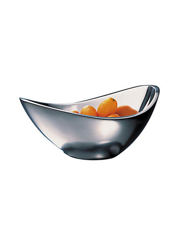 Nambe Butterfly Metal Alloy Bowl-SILVER-Large