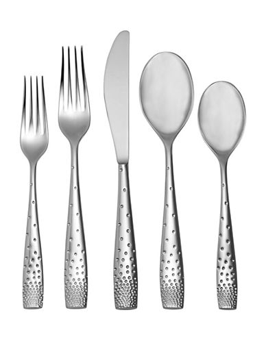 Nambe Five-Piece Dazzle Stainless Steel Flatware Place Setting-STAINLESS STEEL-One Size