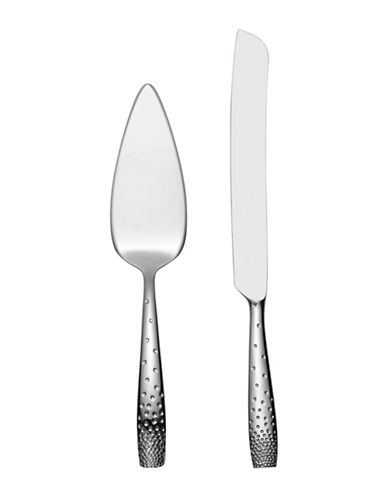 Nambe Dazzle Cake Knife And Server-STAINLESS STEEL-One Size
