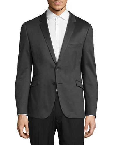 Strellson Arek Cotton Sports Jacket-DARK GREY-40
