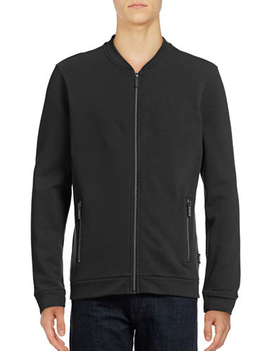 Strellson Zip-Pocket Baseball Jacket-BLACK-Medium 88858115_BLACK_Medium