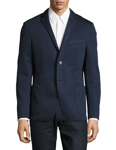 Strellson Mayden Knit Sports Jacket-NAVY-40