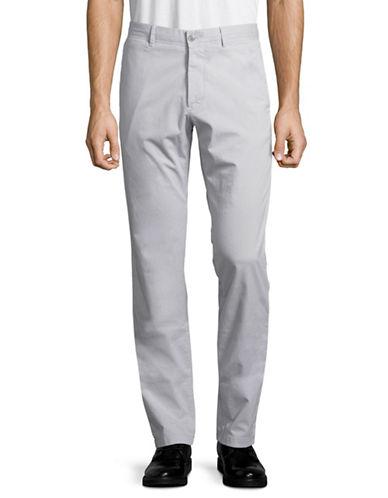 Strellson Rye-D Garment-Dyed Chinos-GREY-32X34