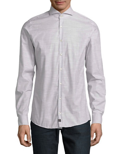 Strellson Sian Slim Fit Shirt-BEIGE-17-32/33