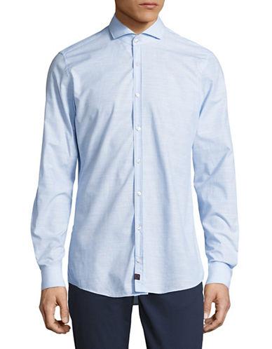Strellson Sian Slim Fit Shirt-BLUE-16-32/33