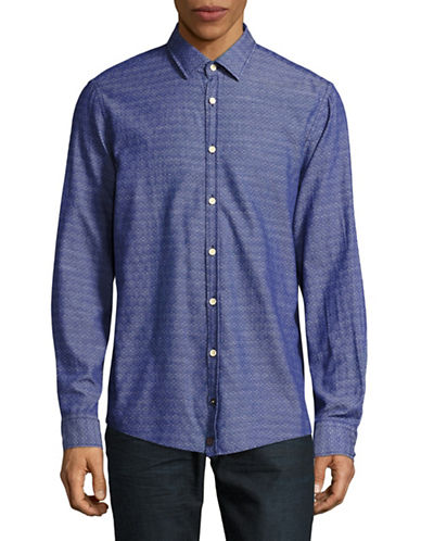 Strellson Riley Shirt-NAVY-Medium