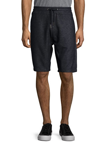 Strellson Owen Sweat Shorts-NAVY-Large