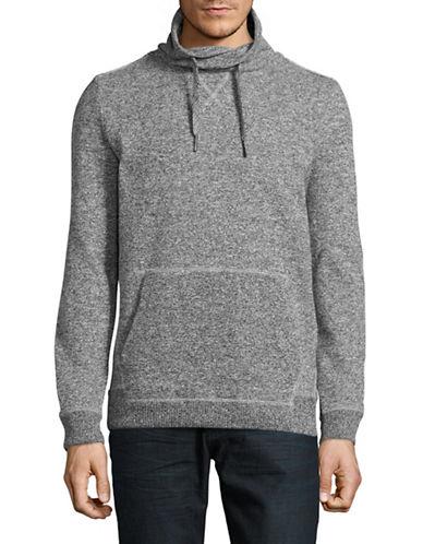 Strellson Funnel Neck Marled Sweater-MEDIUM GREY-Small 88970430_MEDIUM GREY_Small