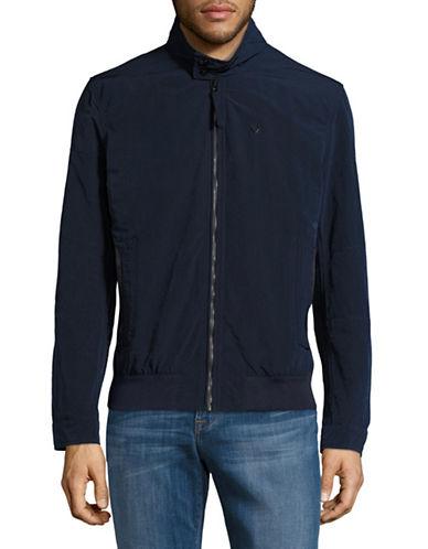Strellson Chunk Mock Neck Jacket-NAVY-36 88968955_NAVY_36