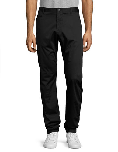 Strellson Bowie-W Slim Fit Woven Pants-BLACK-34X34