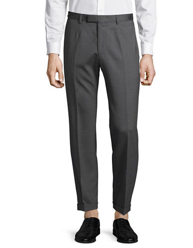 Strellson Kael Wool-Blend Ankle Pants-GREY-38