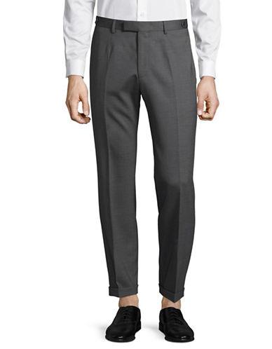 Strellson Kael Wool-Blend Ankle Pants-GREY-34