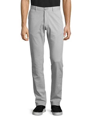 Strellson Coin Pocket Regular Fit Pants-SILVER-34X34