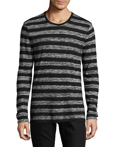 Strellson J-Sid Striped Shirt-MEDIUM GREY-Medium