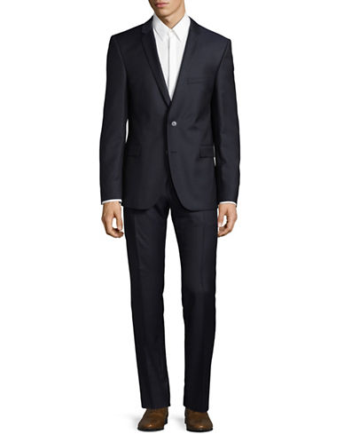 Strellson Rick-James Wool Suit-BLUE-38