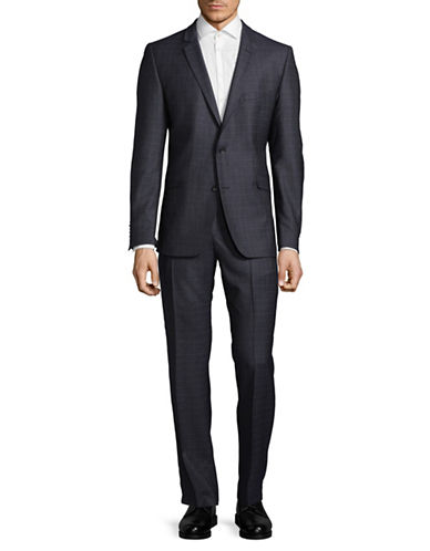 Strellson Allen-Mercer Wool Suit-BLUE-38
