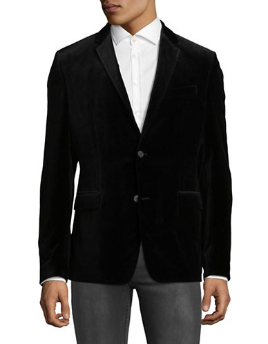 Strellson Wool Corso Checked Sports Jacket-BLACK-44