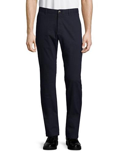 Strellson Rye Textured Pants-BLUE-32X34