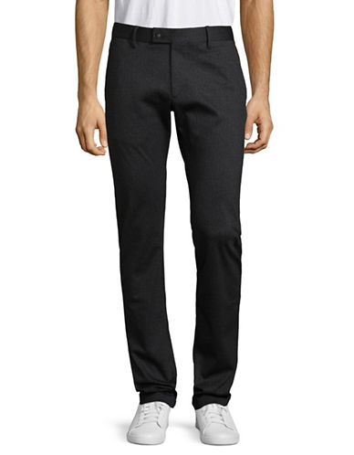 Strellson Fitted Dress Pants-BLUE-34X34