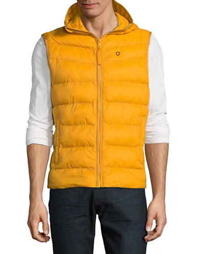 Strellson Sleeveless Hypoallergenic Jacket-YELLOW-42