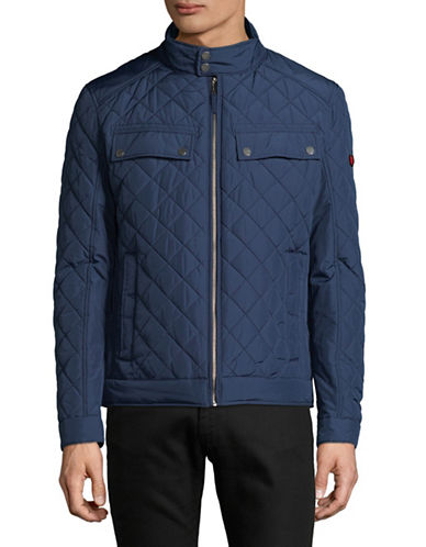 Strellson Long Sleeve Quilted Jacket-BLUE-42