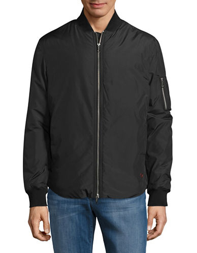 Strellson Asher Bomber Jacket-BLACK-46