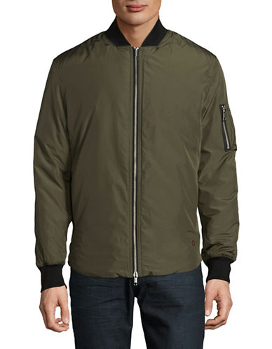Strellson Asher Bomber Jacket-GREEN-40