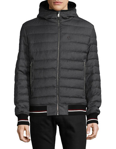 Strellson Icon Down Puffer Jacket-GREY-42