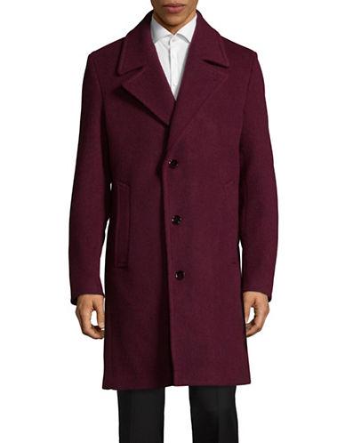 Strellson Toyama Long Coat-RED-40