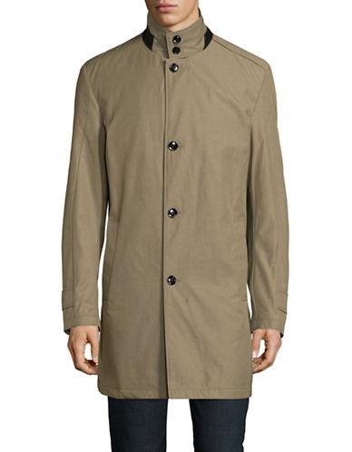 Strellson Gordon Stand Collar Jacket-BEIGE-36