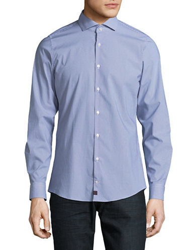 Strellson Extra Slim-Fit Sport Shirt-BLUE-16.5-32/33