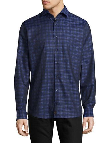 Strellson Printed Slim-Fit Shirt-BLUE-16-32/33