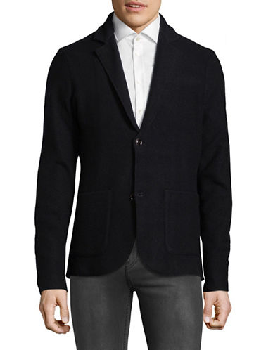 Strellson Courier Virgin Wool Blazer-BLUE-Small