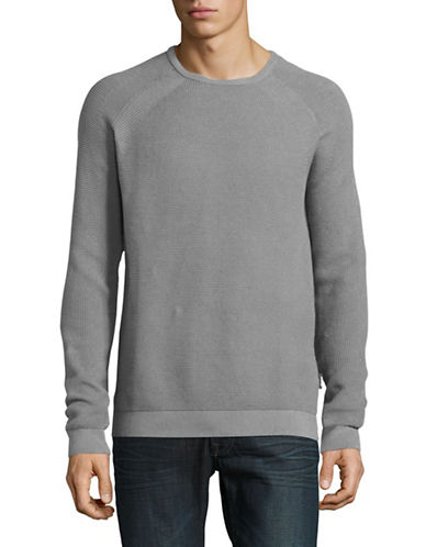 Strellson Farmer Cotton Sweatshirt-SILVER-Medium