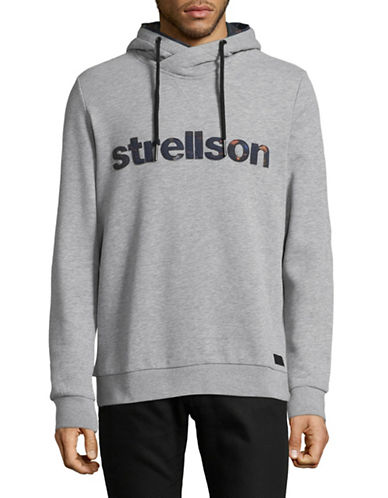 Strellson Bridge Hoodie-GREY-Medium