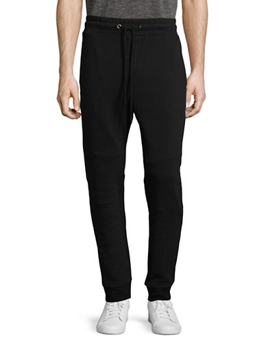 Strellson Bridge Jogger Pants-BLACK-Large