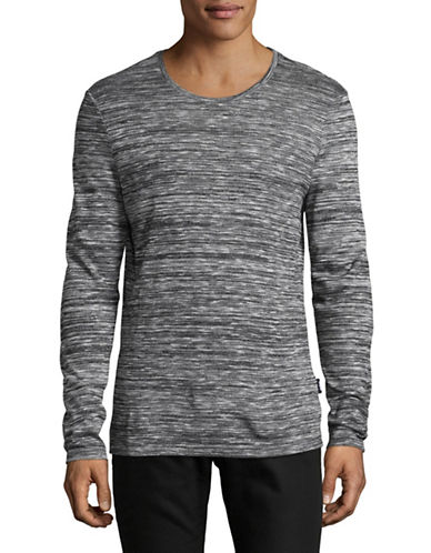 Strellson J-Sid Knit Pullover-GREY-Small