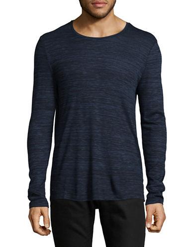 Strellson J-Sid Knit Pullover-NAVY-X-Large