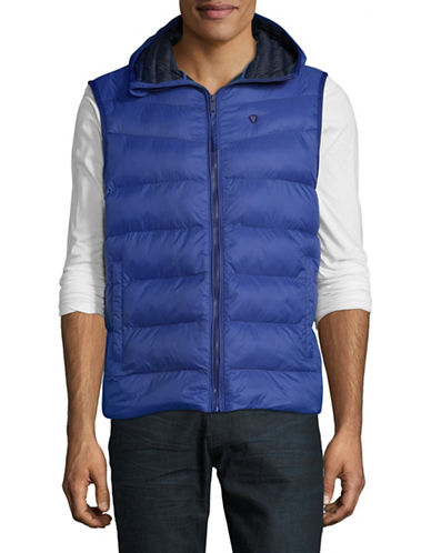 Strellson Sleeveless Hypoallergenic Jacket-BLUE-38