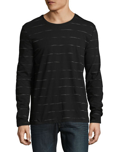 Strellson J-Earl Striped Pullover-GREY-Large