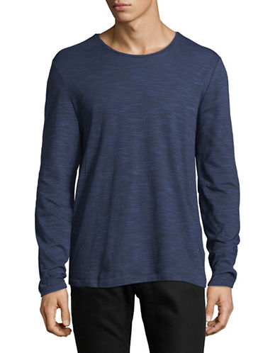 Strellson J-Earl Striped Pullover-NAVY-Large