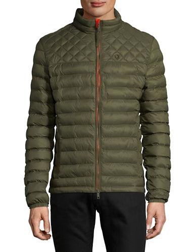 Strellson Long Sleeve Puffer Jacket-GREEN-44
